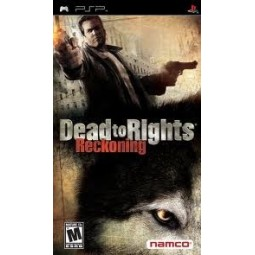 Dead to Rights Reckoning complet: notice, boite, jeu occasion pour PSP