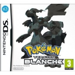 Pokémon Version Blanche complet boite notice.. Occasion