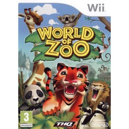 World Of Zoo complet: notice, boite, jeu occasion pour Wii